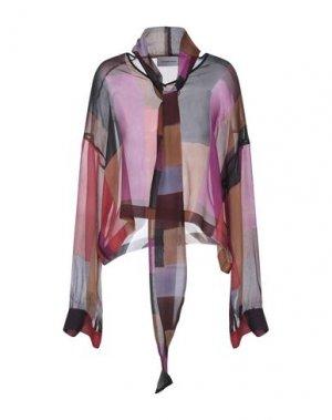 Блузка ALEXANDR ROGOV. Цвет: розовато-лиловый