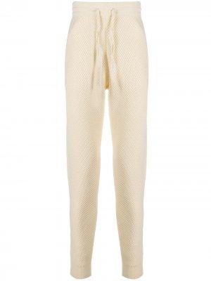 Спортивные брюки с кулиской Casablanca. Цвет: нейтральные цвета