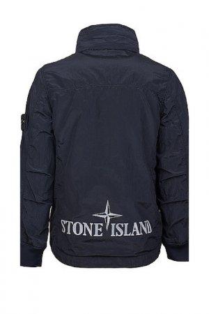 Ветровка Stone Island. Цвет: синий
