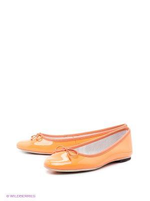 Балетки Cooper. Цвет: оранжевый