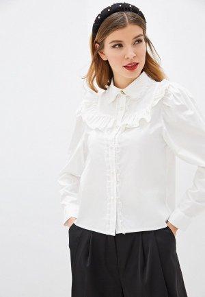 Рубашка Sister Jane. Цвет: белый