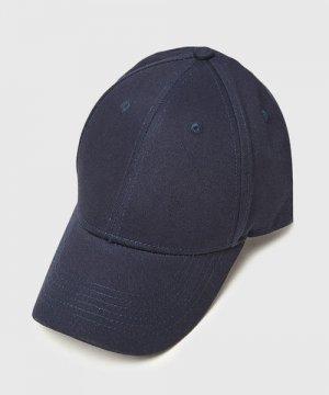 Базовая кепка O`Stin. Цвет: темно-синий