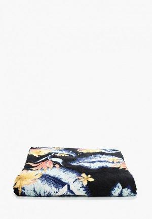 Полотенце Roxy. Цвет: черный