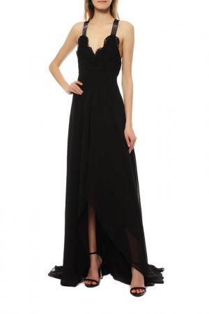 Платье вечернее Versace Collection. Цвет: черный