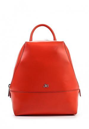 Рюкзак Jacky&Celine. Цвет: красный