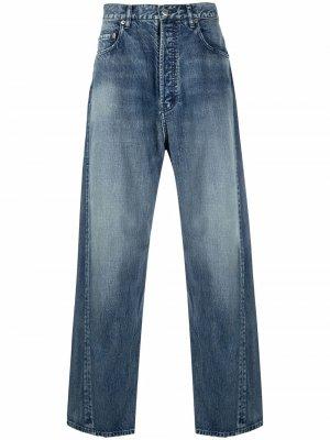 Широкие джинсы AMBUSH. Цвет: синий