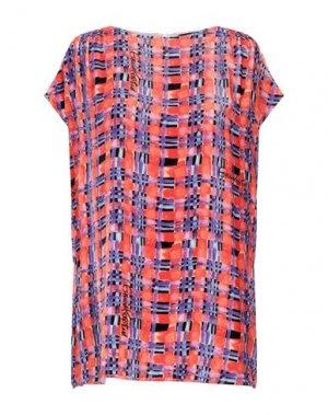 Блузка GIULIA ROSITANI. Цвет: оранжевый