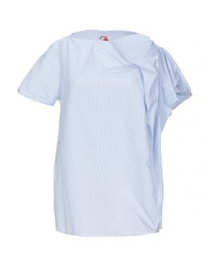 Блузка ATINSIGHT by ANDREA TURCHI. Цвет: лазурный