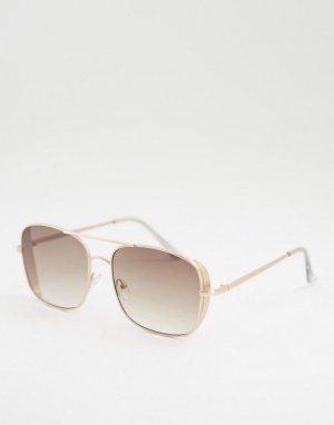 Солнцезащитные очки Jeepers peepers-Золотистый Peepers
