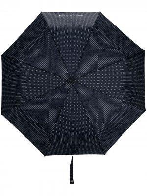 Зонт Ayr в горох Mackintosh. Цвет: синий