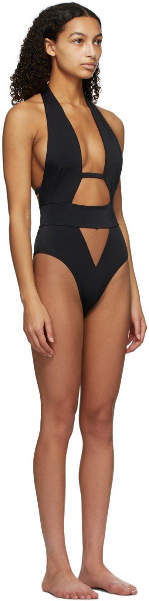 Black Anja One-Piece Swimsuit Agent Provocateur. Цвет: black
