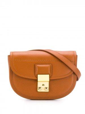 Маленькая поясная сумка Pashli 3.1 Phillip Lim. Цвет: коричневый