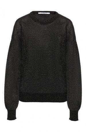 Пуловер из смеси вискозы и хлопка Givenchy. Цвет: черный
