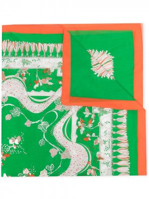 Парео с принтом Rugiada Emilio Pucci. Цвет: зеленый