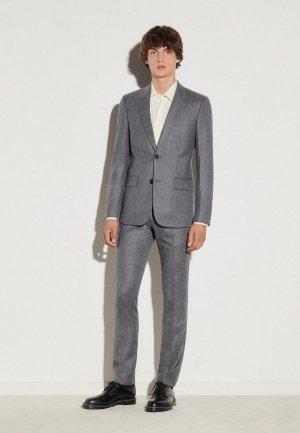 Пиджак Sandro. Цвет: серый