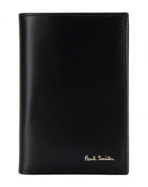 Бумажник PAUL SMITH. Цвет: черный