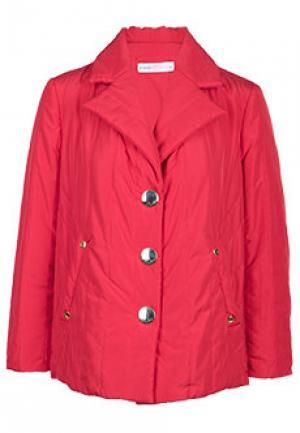 Куртка MARIA GRAZIA SEVERI. Цвет: красный