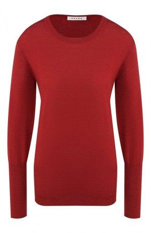 Шерстяной пуловер Falke. Цвет: бордовый