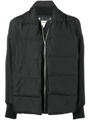Куртка-бомбер оверсайз Michael Kors. Цвет: черный