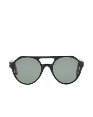 Солнечные очки DRIES VAN NOTEN. Цвет: черный