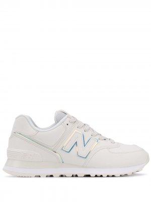 Кроссовки 574 New Balance. Цвет: белый