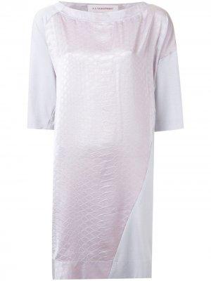 Платье Fairest A.F.Vandevorst. Цвет: розовый