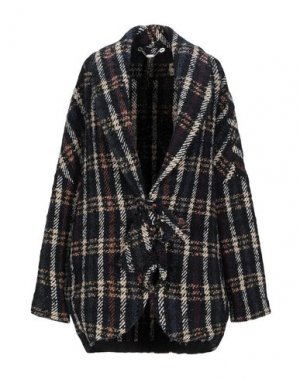 Пальто MANILA GRACE. Цвет: темно-синий