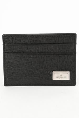 Бумажник Corneliani. Цвет: черный