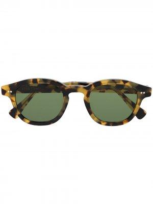 Солнцезащитные очки Bronte 3 в квадратной оправе Epos. Цвет: коричневый