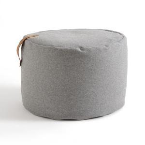Пуф из фетрина FELT LA REDOUTE INTERIEURS. Цвет: серый,янтарь
