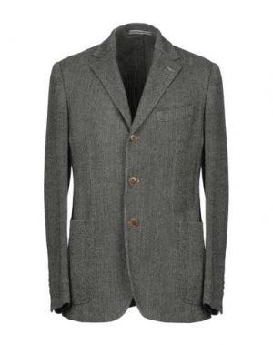 Пиджак ROŸ ROGER'S. Цвет: свинцово-серый