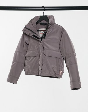 Утепленная куртка серо-сиреневого цвета Original-Коричневый Hunter