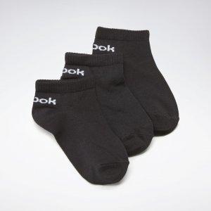Носки Inside, 3 пары Reebok. Цвет: black
