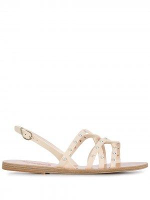 Сандалии с заклепками Ancient Greek Sandals. Цвет: белый