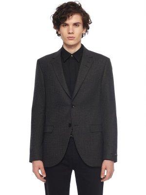 Костюмный пиджак TIGER OF SWEDEN. Цвет: серый