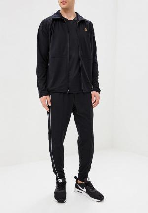 Костюм спортивный Nike NikeCourt Mens Tennis Warm-Up. Цвет: черный