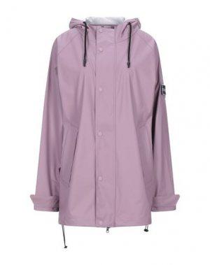 Легкое пальто STUTTERHEIM. Цвет: розовато-лиловый