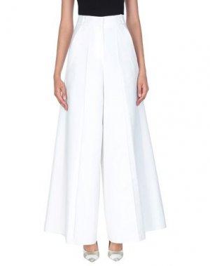 Повседневные брюки DICE KAYEK. Цвет: белый