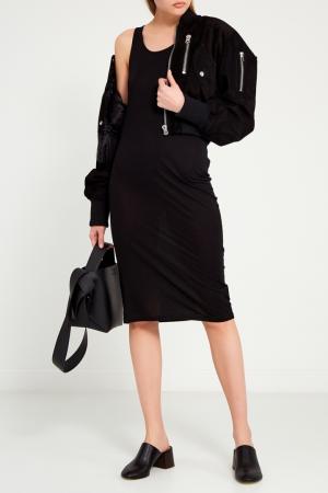 Черное платье-майка Trudela Acne Studios. Цвет: черный