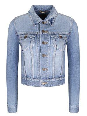 Куртка джинсовая укороченная SAINT LAURENT