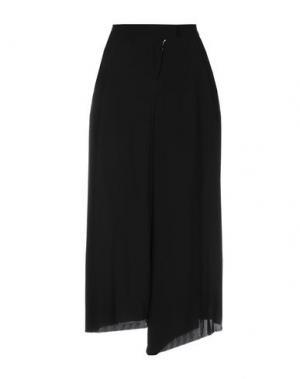 Повседневные брюки ALESSANDRA MARCHI. Цвет: черный