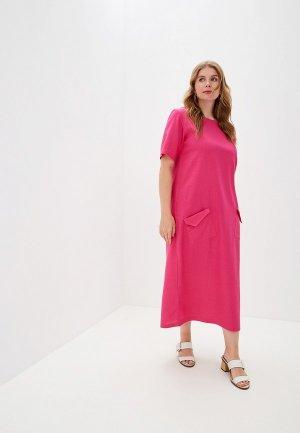 Платье Chic de Femme. Цвет: розовый