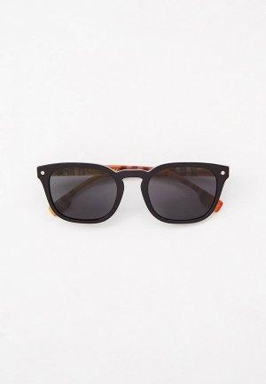 Очки солнцезащитные Burberry BE4329 375787. Цвет: черный
