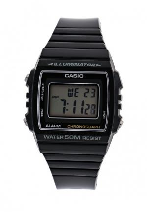 Часы Casio Collection W-215H-1A. Цвет: черный