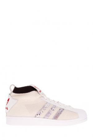 Кроссовки UA&S ULTRA STAR Adidas. Цвет: белый