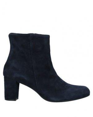 Полусапоги и высокие ботинки ELEGANCE. Цвет: темно-синий