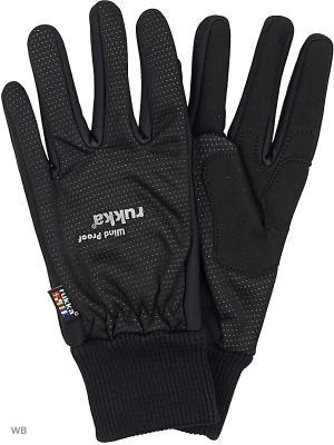 Перчатки Rukka. Цвет: черный