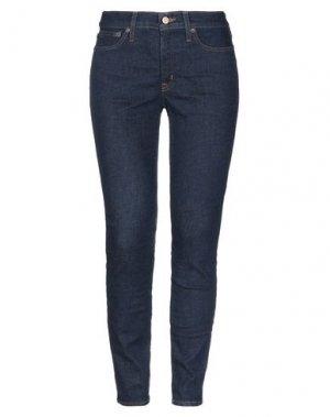 Джинсовые брюки J.CREW. Цвет: синий