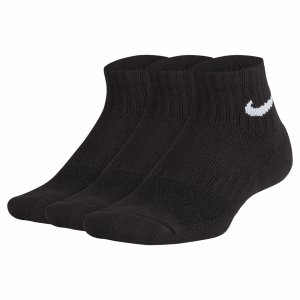 Performance Cushioned Quarter Training 3-Pack Nike. Цвет: черный