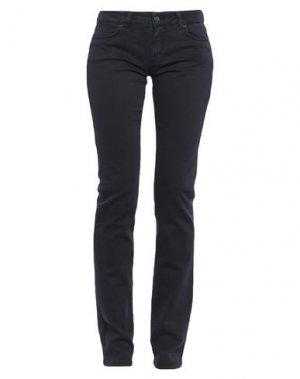 Повседневные брюки GF FERRE' JEANS. Цвет: темно-синий